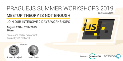 PragueJS Summer Workshops 2019
