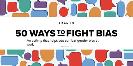 50 Ways to Fight Biases in the Workplace tickets