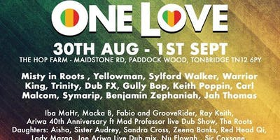 One Love Festival 2019 (BOGOF (Asahi beer Promotion) )