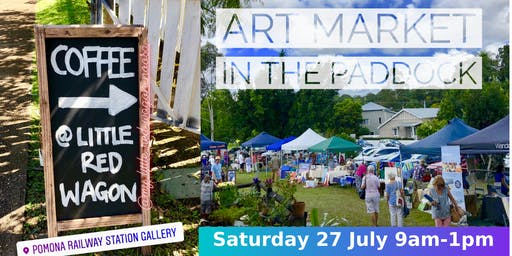 July Art Market in the Paddock