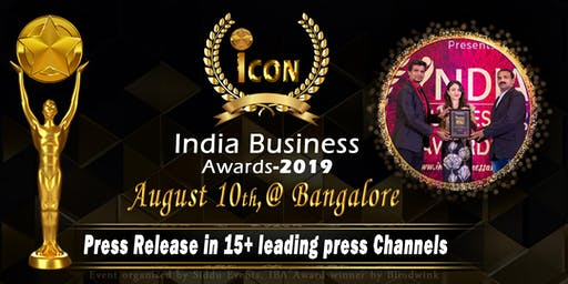 Icon India Business Awards-2019