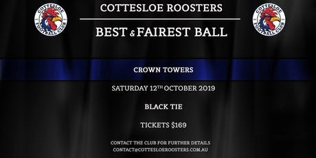 Cottesloe Football Club Best and Fairest tickets
