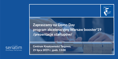 WARSAW booster'19 Demo Day