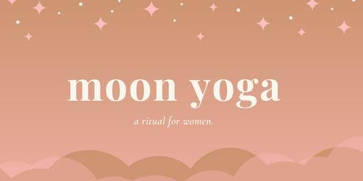 MOON YOGA ◠ a ritual for women.
