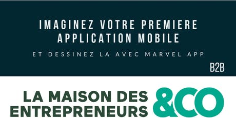 Imaginez votre première application mobile, dessinez-là avec Marvel App billets