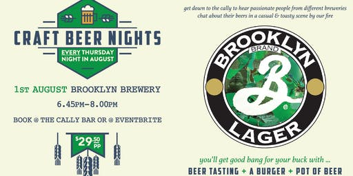 Craft Beer Nights - Brooklyn Brewery