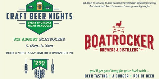 Craft Beer Nights - Boatrocker