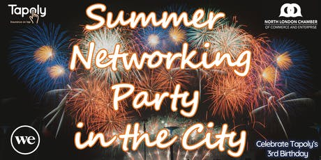 Summer Networking Party in the City -- Celebrate Tapoly's 3rd Birthday!!! tickets