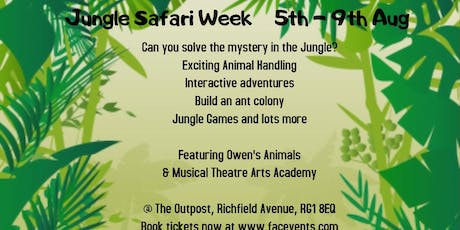 Jungle Safari Family Activities tickets