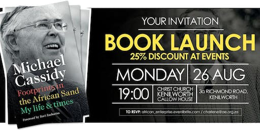 Michael Cassidy's Memoirs Book Launch - Cape Town