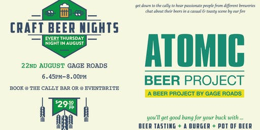 Craft Beer Nights - Gage Road/Atomic Beer Project
