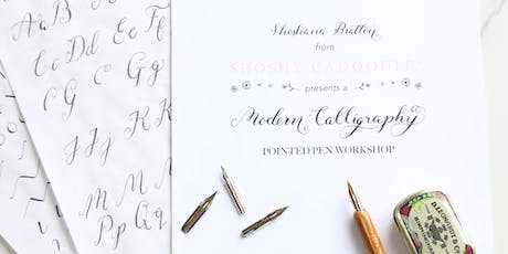 Modern Calligraphy Beginners Workshop at Cass in Islington, London tickets