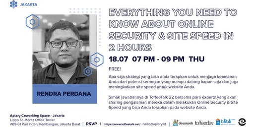 Everything You Need to Know About Online Security & Site Speed in 2 Hours