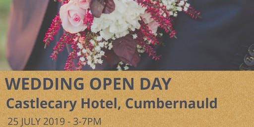 Castlecary Hotel July Wedding Open Day