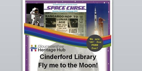 Cinderford Library - Summer Reading Challenge - Fly Me to the Moon -  tickets