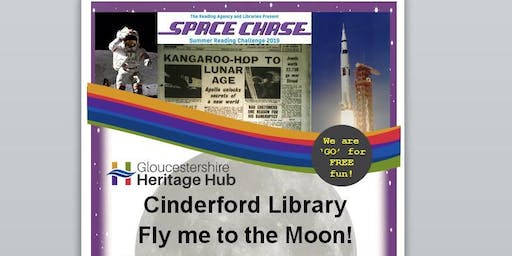 Cinderford Library - Summer Reading Challenge - Fly Me to the Moon -