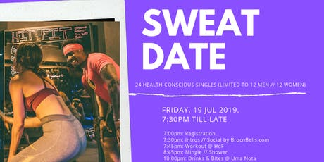 SWEATDATE: Find Your Fit tickets