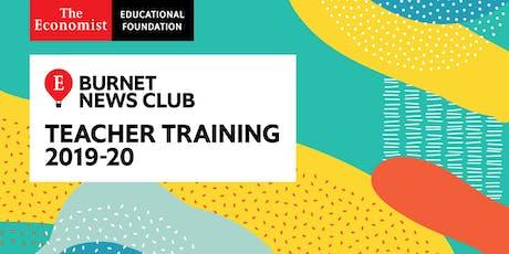 Burnet News Club 2019-20 Teacher Training tickets