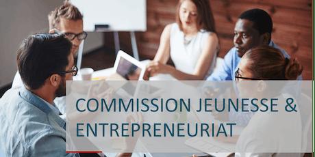 Commission JEUNESSE & ENTREPRENEURIAT billets