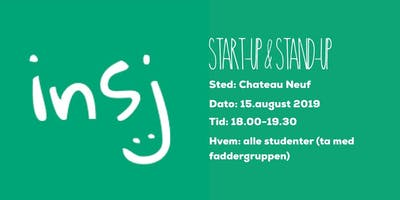 START-UP & STAND-UP