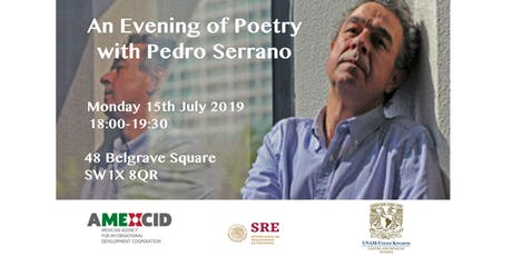 An Evening of Poetry with Pedro Serrano tickets
