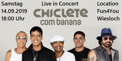 Chiclete com Banana Live in Concert