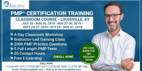 PMP® Certification Training In Louisville, KY, USA | 4-Day (PMP) Boot Camp tickets