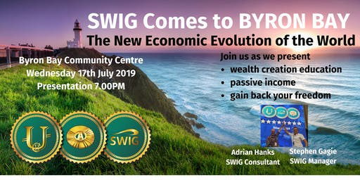 SWIG BYRON BAY ~ The New Economic Evolution of the World