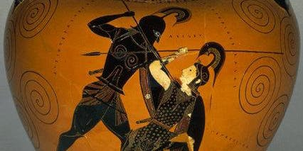 Myth in Greek art vase painting at the British Museum