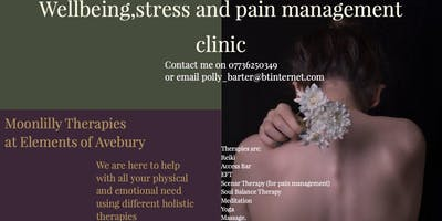 Wellbeing,stress and pain management clinic