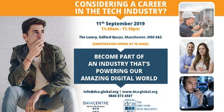 Data Centre Re-Transformation Conference 2019 - Student Careers Track tickets