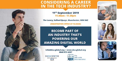 Data Centre Re-Transformation Conference 2019 - Student Careers Track