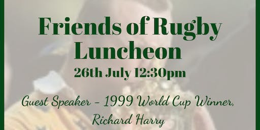 Friends Of Rugby Luncheon
