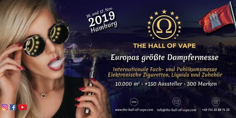 The Hall of Vape Hamburg Tickets