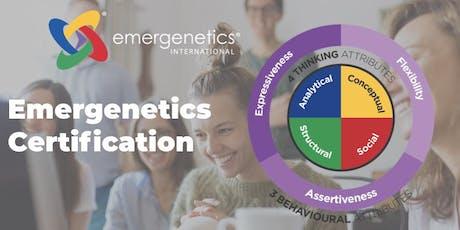 Emergenetics Associate Certification tickets