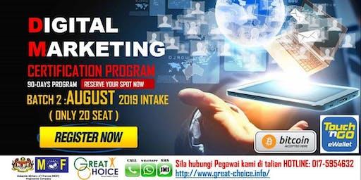Mastering in Digital Marketing (3 months hands-on practical program)