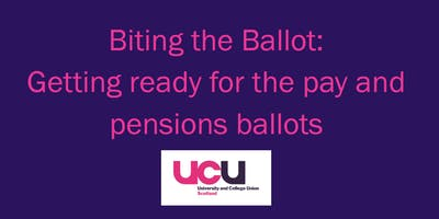 Biting the Ballot: Getting ready for the pay and pensions ballots