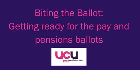 Biting the Ballot: Getting ready for the pay and pensions ballots tickets
