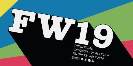 University of Glasgow Freshers' Week 2019 tickets