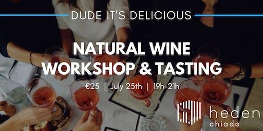 Natural Wine Workshop & Tasting