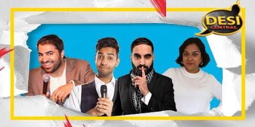 Desi Central Comedy Show : Wolverhampton