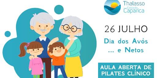 Dia dos Avós... e Netos - Aula Aberta de Pilates