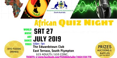 African Quiz Night