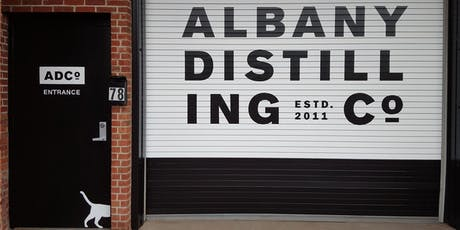 Albany Distilling Tour and Pop-Up Social tickets