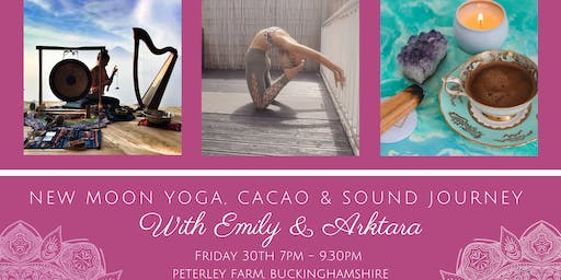 New Moon Yoga, Cacao & Sound Journey - SOLD OUT