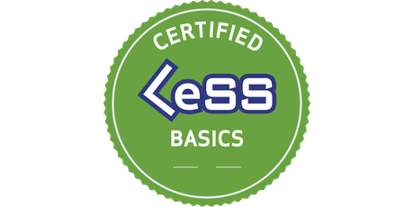 Certified LeSS Basics (CLB) - essentials of Large-Scale Scrum tickets