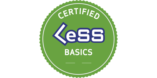 Certified LeSS Basics (CLB) - essentials of Large-Scale Scrum