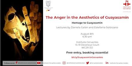 Homage to Guayasamin. Lectures by Daniela Galán & Estefanía Solórzano tickets