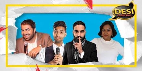 Desi Central Comedy Show : Leeds tickets