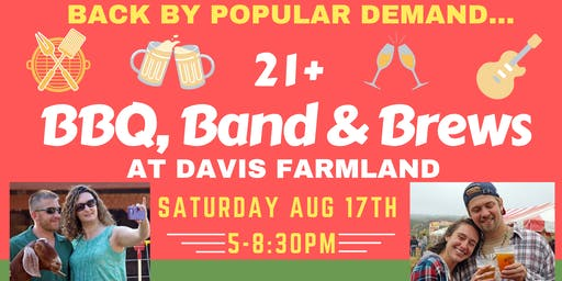 21+, BBQ, Band & Brews Night